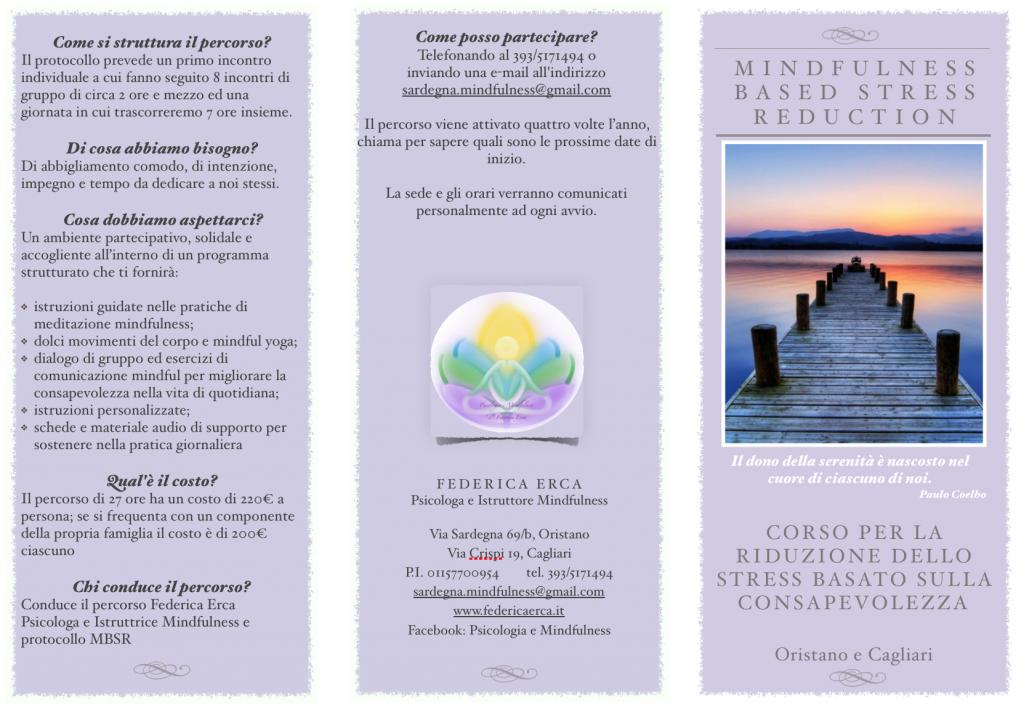 brochure MBSR Federica Erca 1